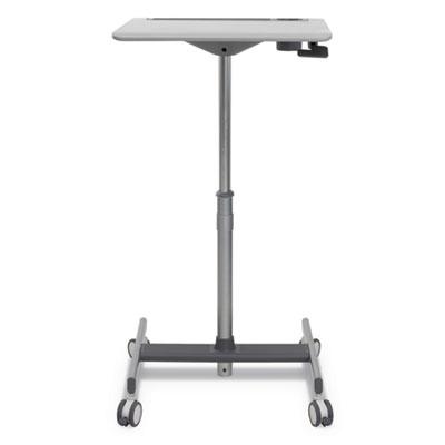 "LearnFit SE Sit-Stand Desk, 24"" x 20 1/2"" x 45"", Gray"