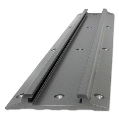 Wall Track, 5w x 0.88d x 26h, Aluminum