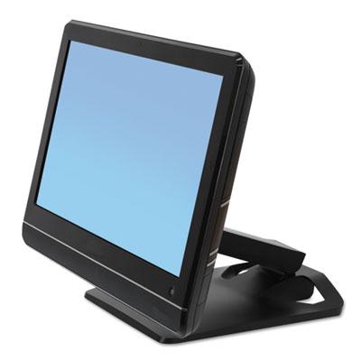 Neo-Flex Touchscreen Stand, 10.88w x 12.88d x 5 to 11.75h, Black