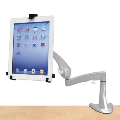 Neo-Flex LCD Arm, 18 lb Weight Capacity, Silver