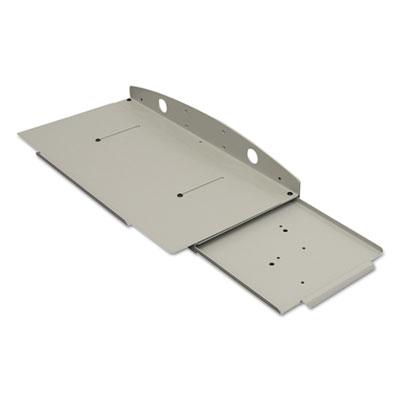 Keyboard Tray, 8.5w x 18d, Gray