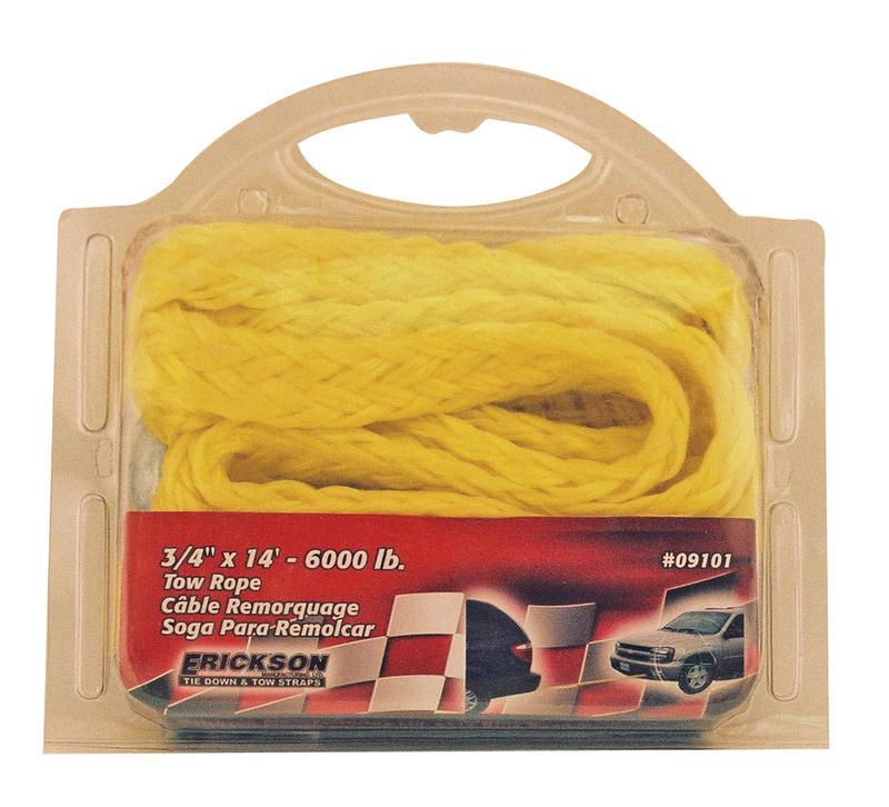 09101 3/4X14 FT. 6000# TOW ROPE