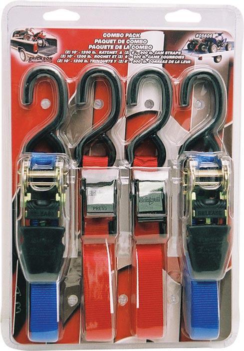 05606 2-RATCHET & 2-CAM STRAPS