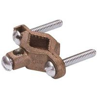 Eritech CWP1J Grounding Pipe Clamp, 1/2 - 1 in, Silicone Bronze