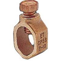 Eritech CP58 Acorn Standard Duty Ground Clamp, 1/2 - 5/8 in, Silicone Bronze