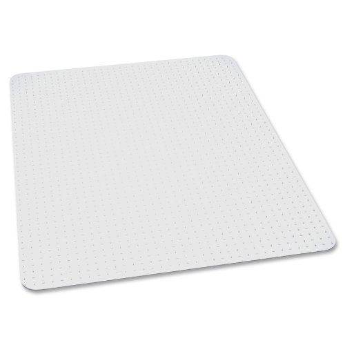 EverLife Chair Mats For Medium Pile Carpet, Rectangular, 36 x 48, Clear