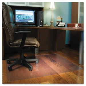46x60 Rectangle Chair Mat, Economy Series for Hard Floors