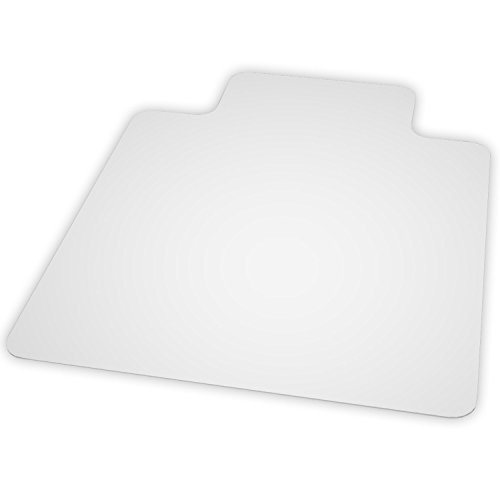 Natural Origins Chair Mat With Lip For Hard Floors, 36 x 48, Clear