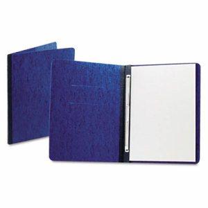 "PressGuard Report Cover, Prong Clip, Letter, 3"" Capacity, Dark Blue"