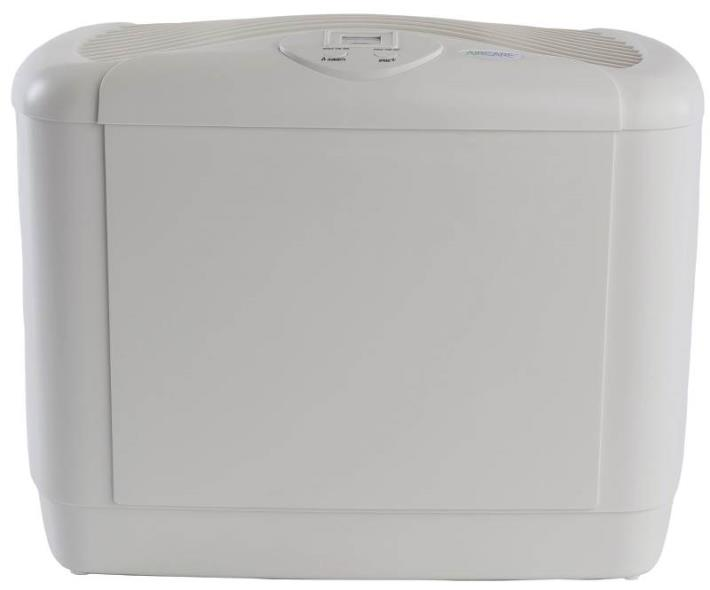 Mini-Console 1,250 Sq. Ft. Multi-Room Evaporative Humidifier, White