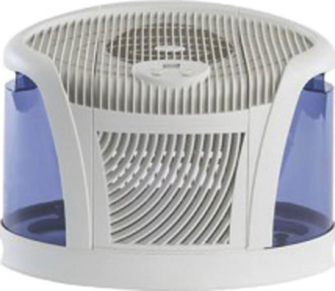 Mini-Console 1,500 Sq. Ft. Multi-Room Evaporative Humidifier, Blue/White