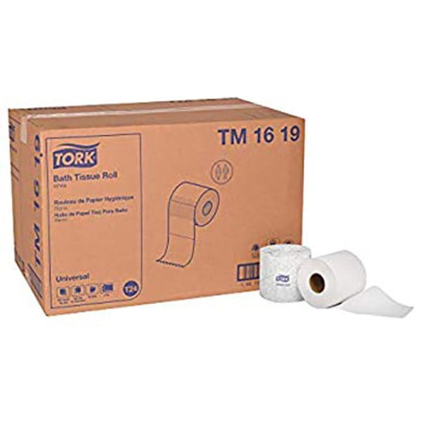 Universal Bath Tissue Roll with OptiCore, Septic Safe, 2-Ply, White, 865 Sheets/Roll, 36/Carton