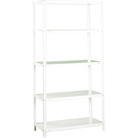 SHELVING WHITE 35WX12DX71H
