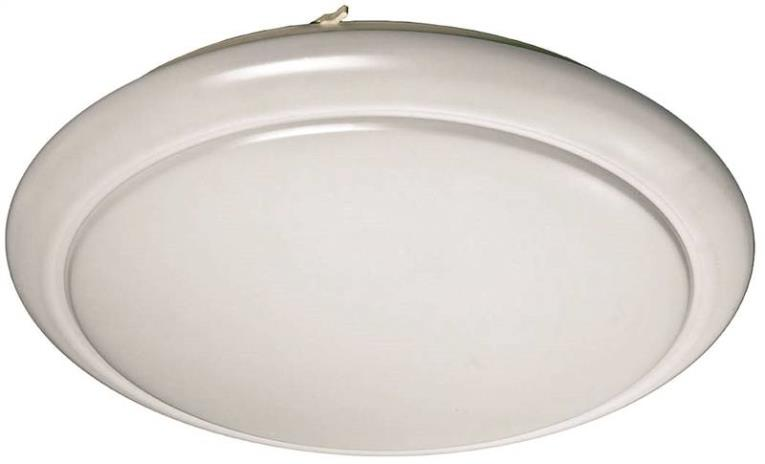 LIGHT 24IN 40W ROUND FLUSHMNT