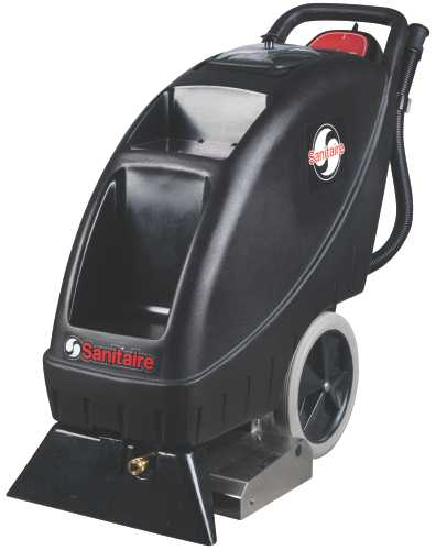 SANITAIRE� CARPET EXTRACTOR, 15 AMPS. COMMERCIAL MOTOR, 9.0 GALLON TANK