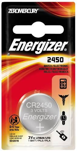 ENERGIZER BATTERY 3V LITHIUM 2450
