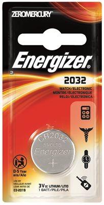 ENERGIZER BATTERY 3V LITHIUM 2032