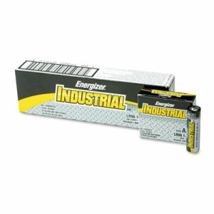 Industrial Alkaline Batteries, AA, 24 Batteries/Box