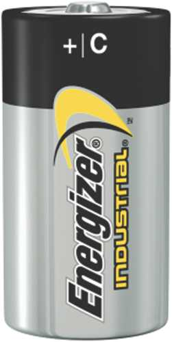Industrial Alkaline Batteries, C, 12 Batteries/Box