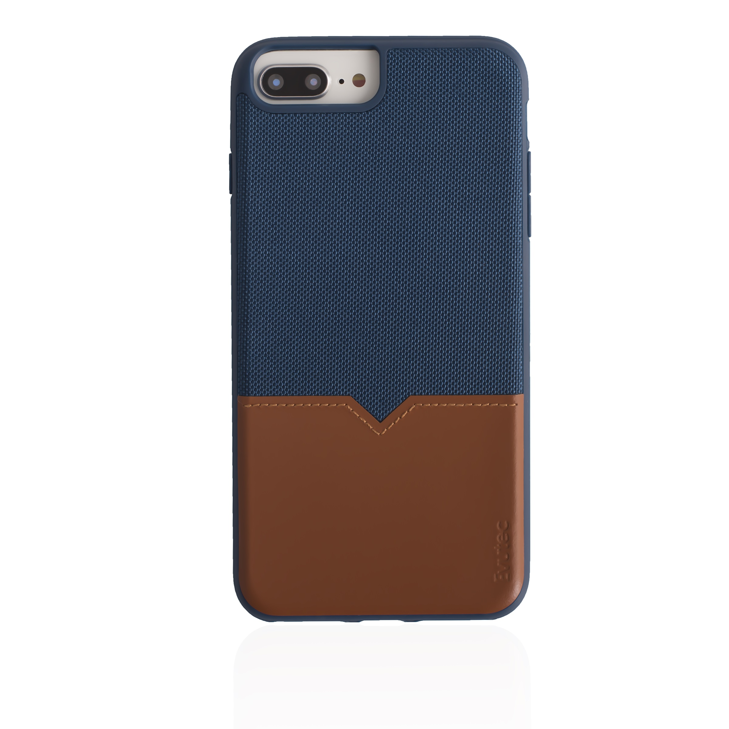 EVUTEC NH68PMTD03 BLUE IPHONE CASE FOR 6 6S 7 7S & 8 PLUS