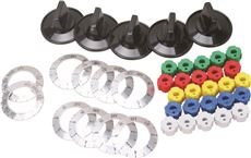 ERP BURNER KNOB KIT FOR UNIVERSAL ELECTRIC RANGE