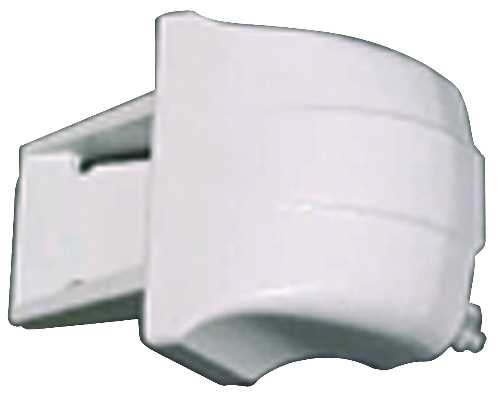GE REFRIGERATOR SHELF END CAP WHITE