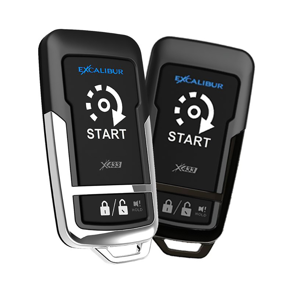 Excalibur 1500 Feet 1+1 Button Remote Start Keyless Entry System