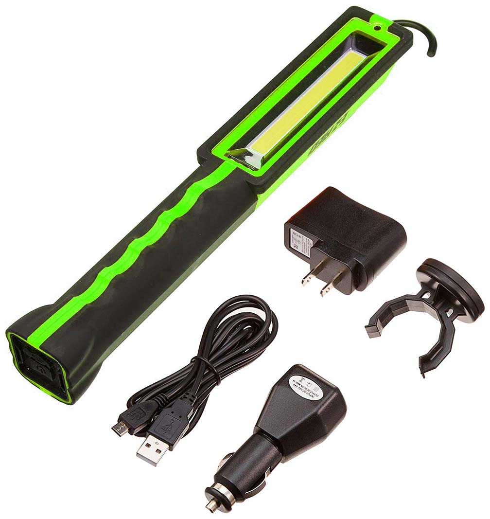 EZ RED  Rechargeable Work Light 3W COB LED