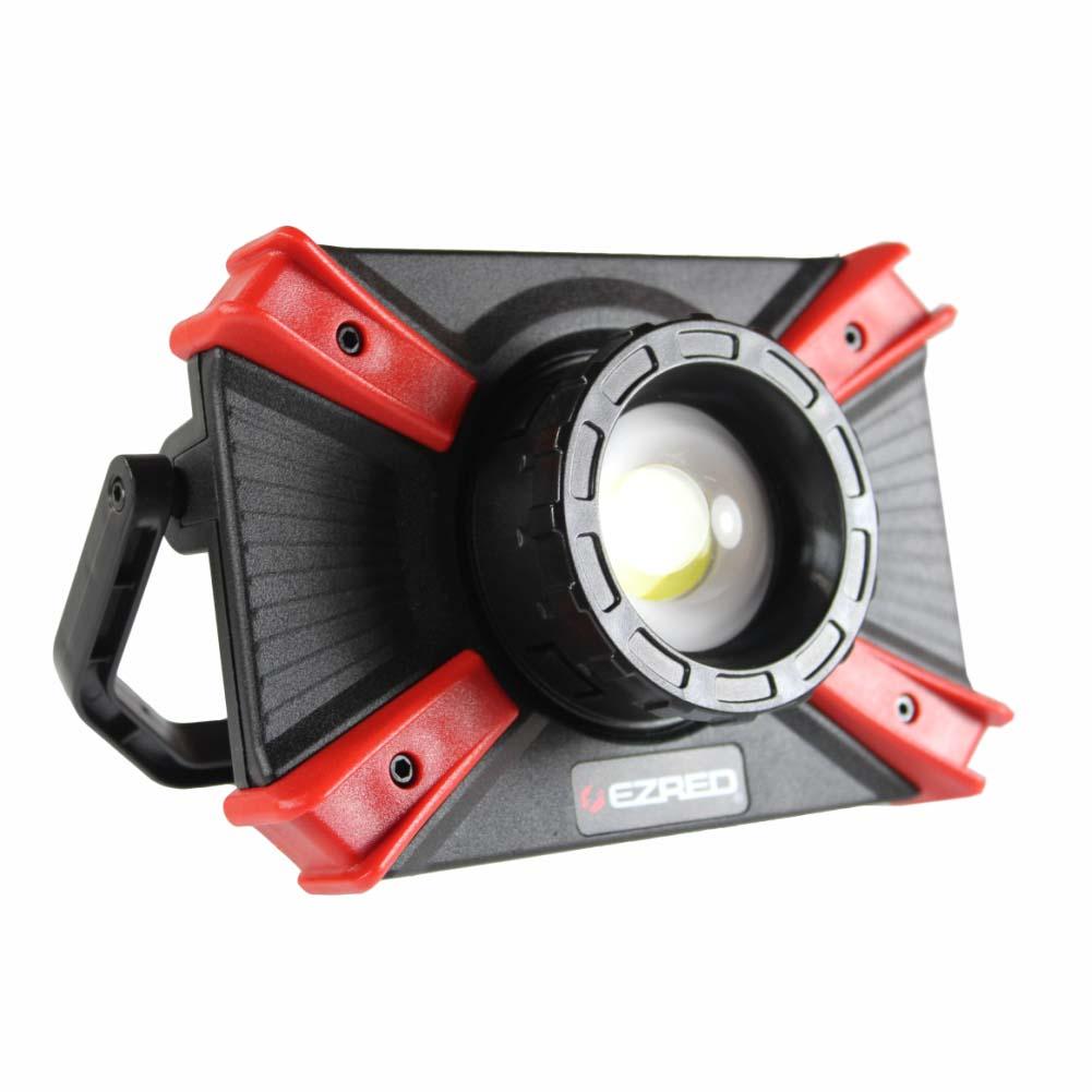 EZ RED Extreme Focusing Light 1000 Lumen Rechargeable COB LED Work Light