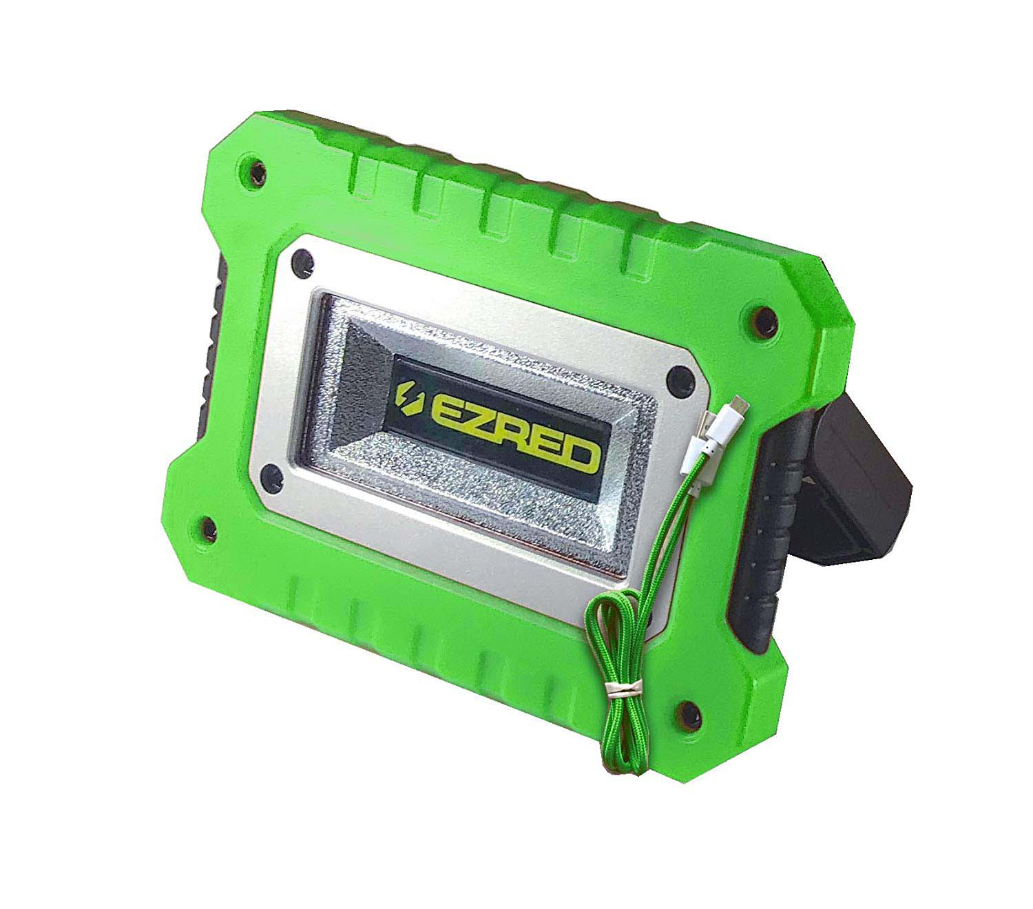 EZ RED Extreme Magnet Worklight Green Logo COB Color Box UHL-MAG & Micro-USB cord