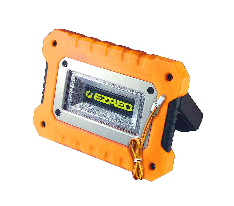 EZ RED Extreme Magnet Worklight Orange Logo COB Color Box UHL-MAG & Micro-USB cord