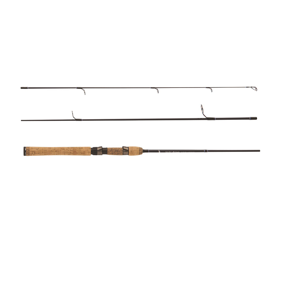 Eagle Claw Diamond Graphite Travel Rod 6' 3 Piece Light