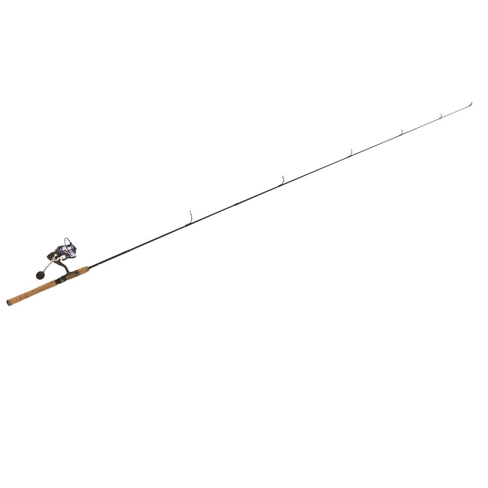 "Eagle Claw Diamond Graphite Rod 6'6"" 2 Pc M Combo w/4BB Reel"