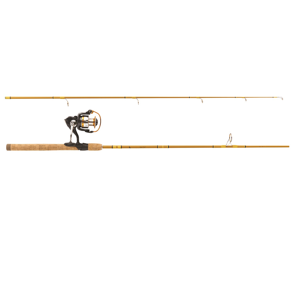 """Eagle Claw Crafted Glass Spinning Rod 6'6"""" 2 Pc Medium"""