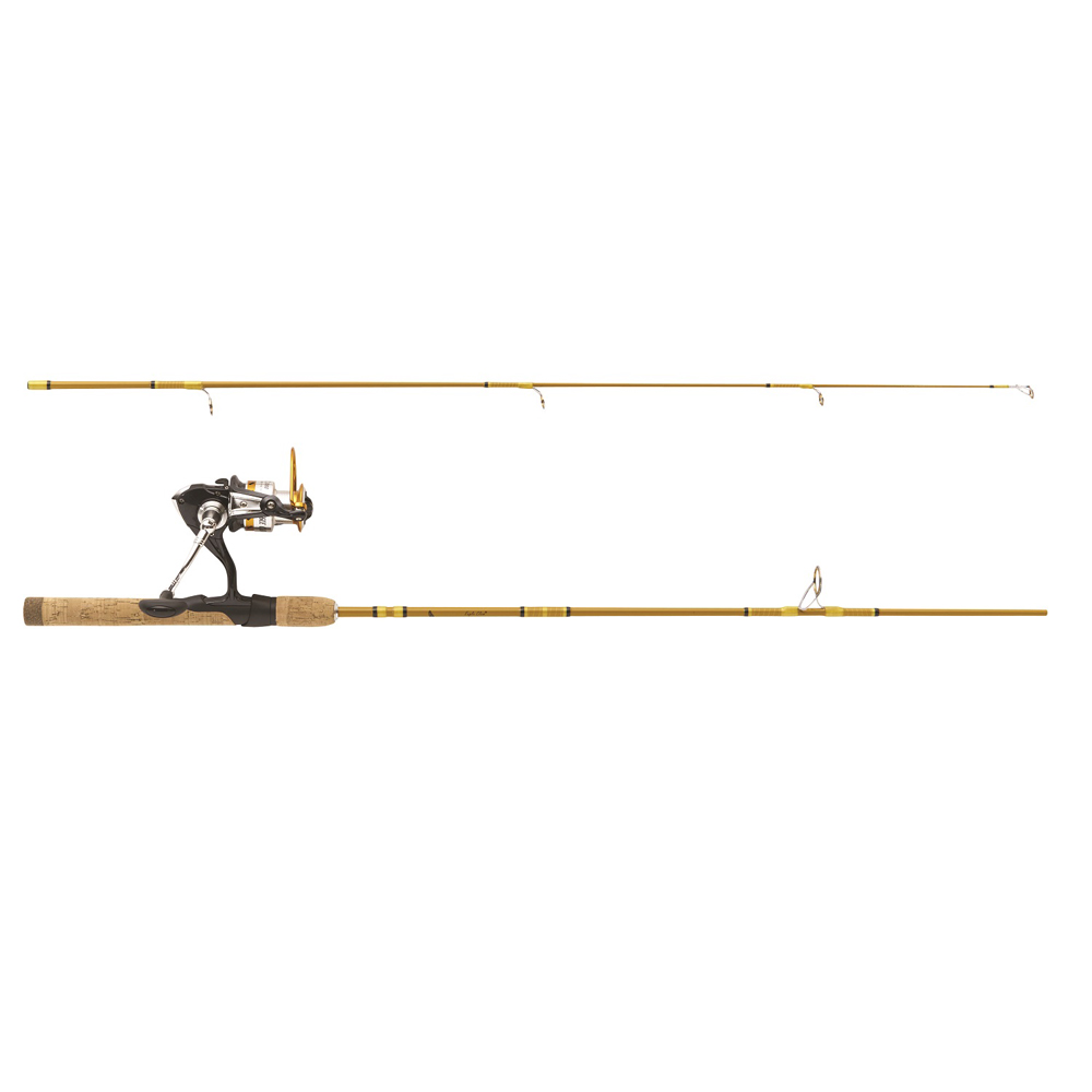 """Eagle Claw Crafted Glass Spinning Combo 5'6"""" 2 Piece Light"""