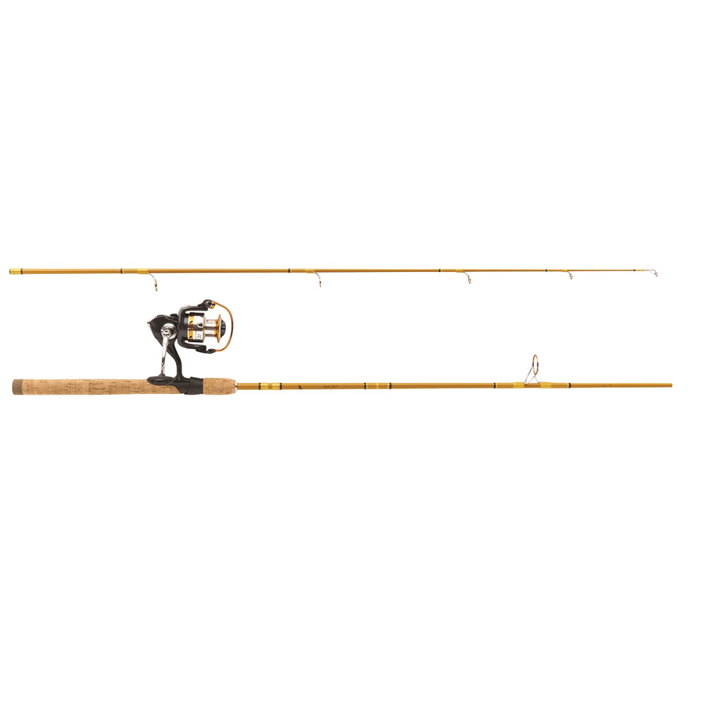 """Eagle Claw Crafted Glass Spinning Combo 6'6"""" 2 Piece Medium"""