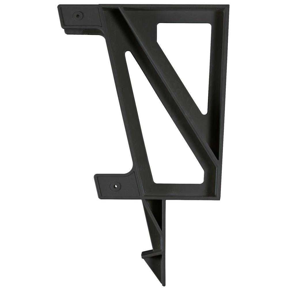 Bench Bracket, Black