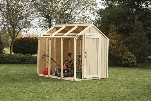 Shed Kit, Peak Roof