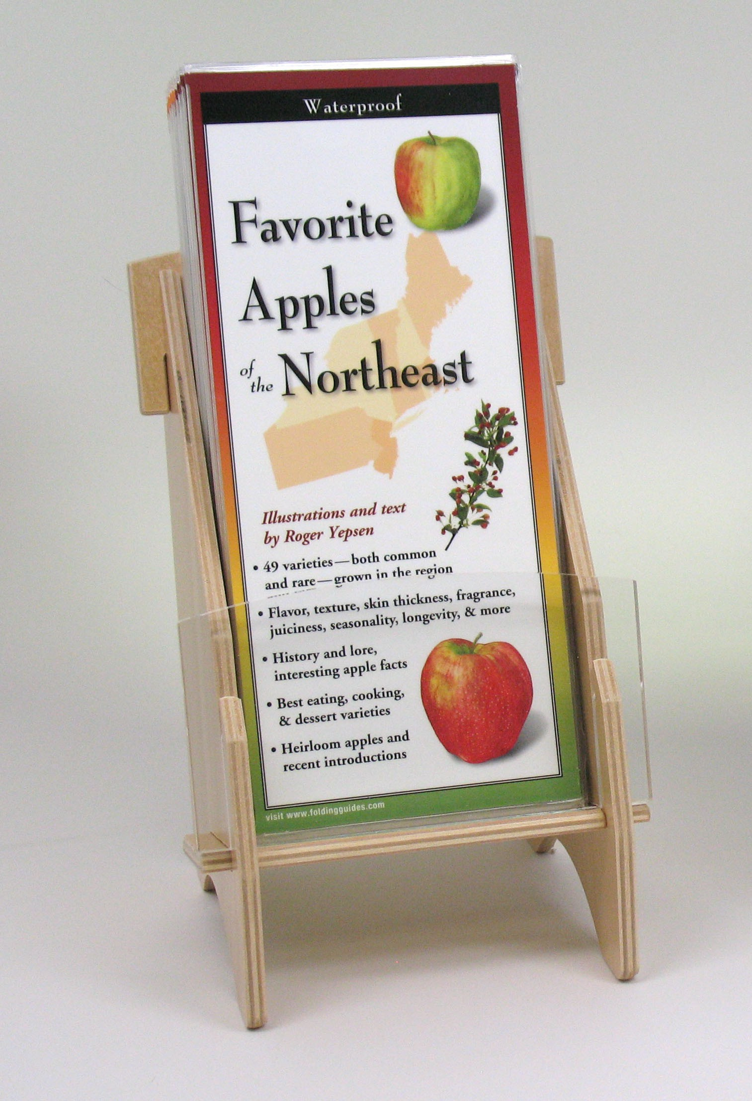 1 Pocket Wooden Display (Folding Guides)