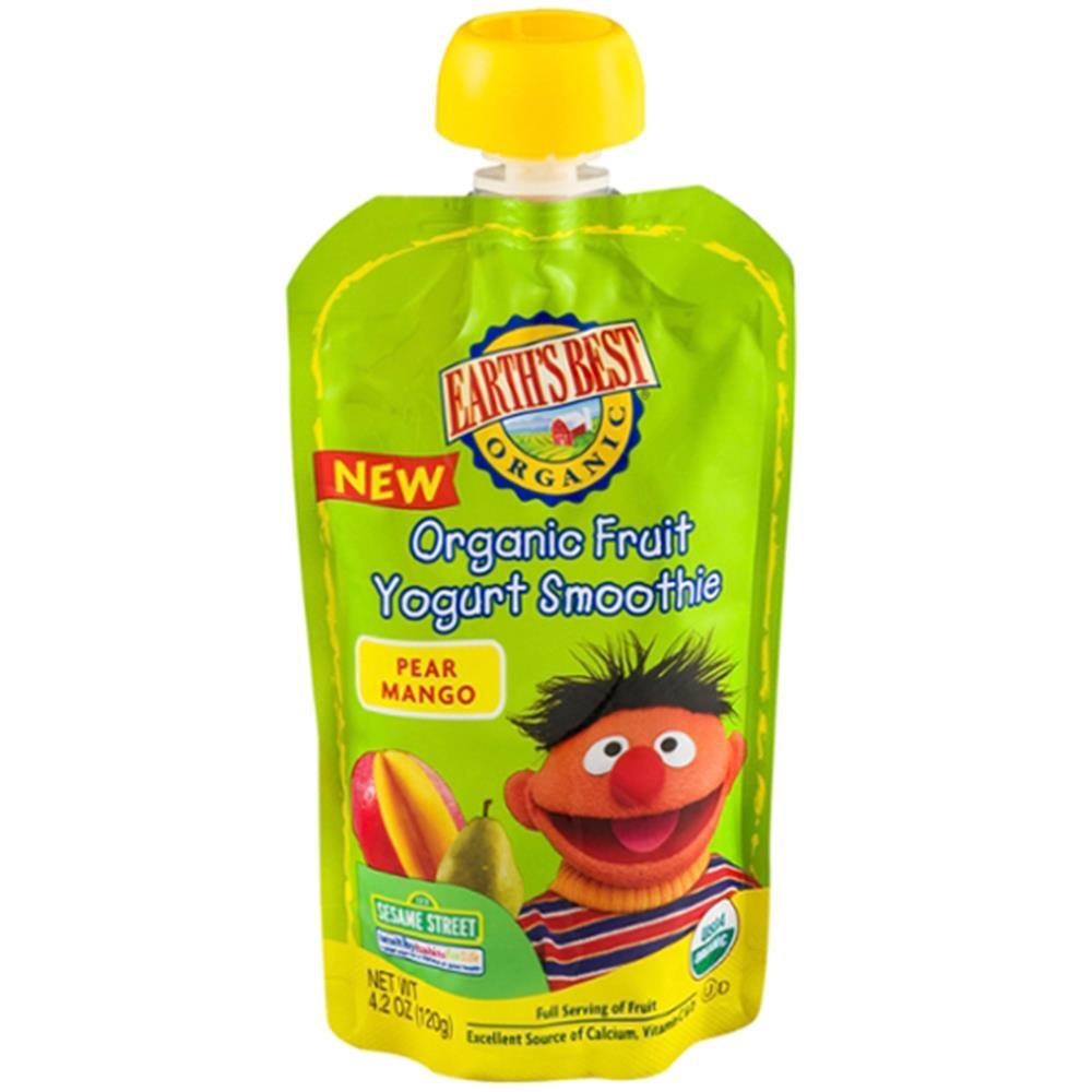 Earth's Best - Organic Pear Mango Yogurt Smoothi ( 12 - 4.2 OZ)