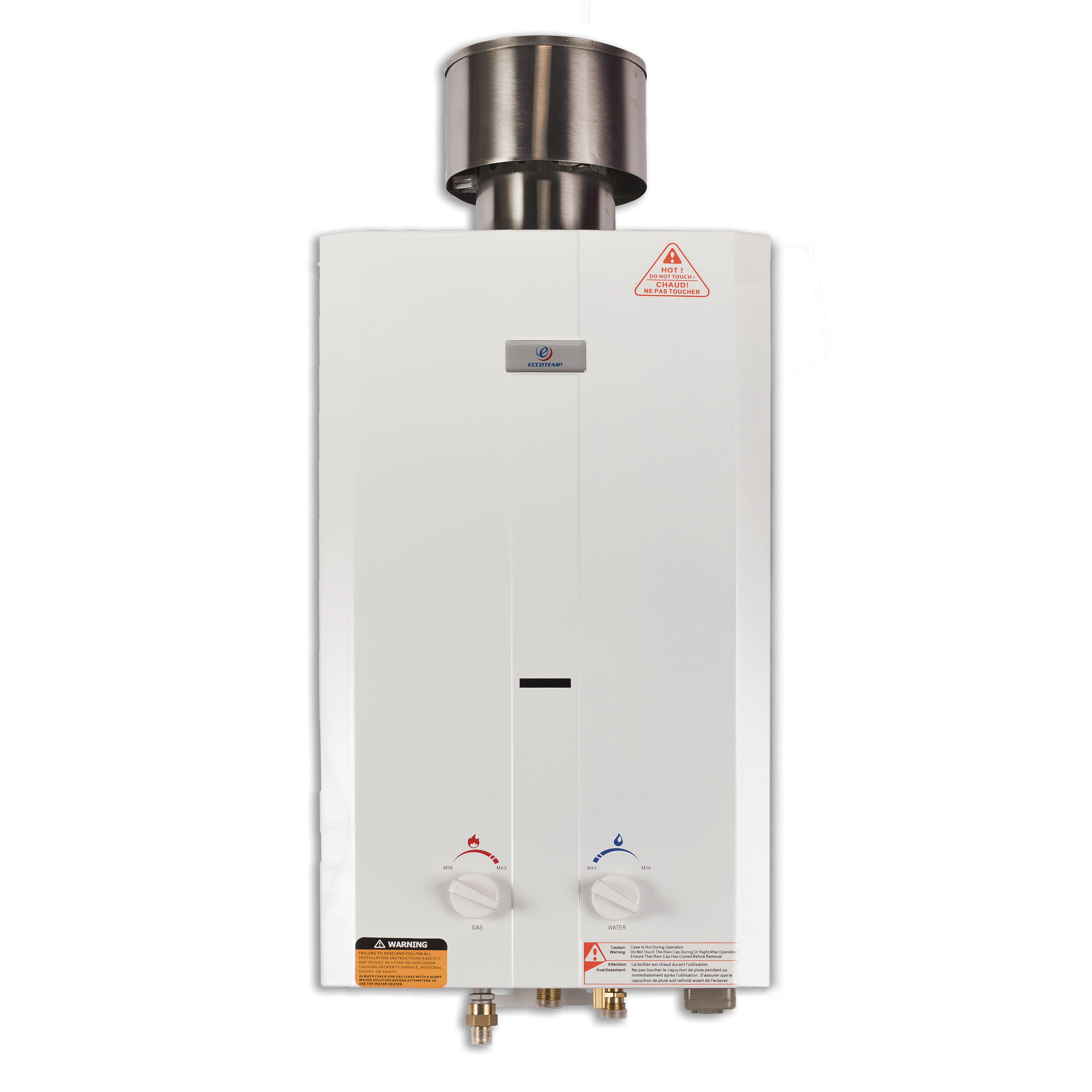 Eccotemp L10 2.6 GPM Portable Outdoor Tankless Water Heater