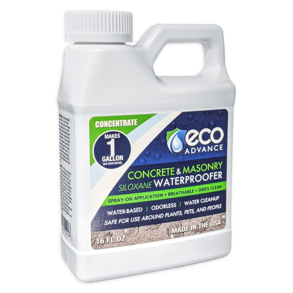 Eco Advance Concrete/Masonry Waterproofer Concentrate - Makes 1 Gallon