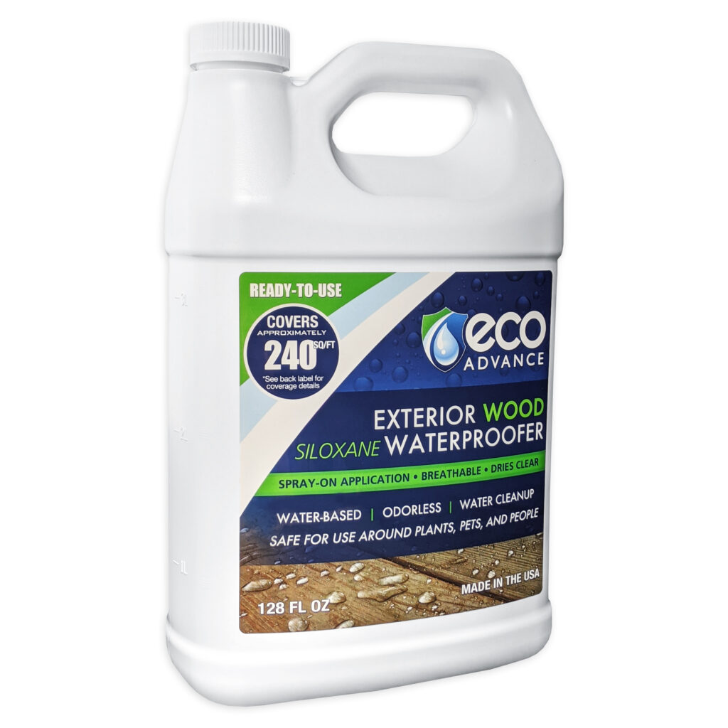Eco Advance Exterior Wood Waterproofer - 1 Gallon