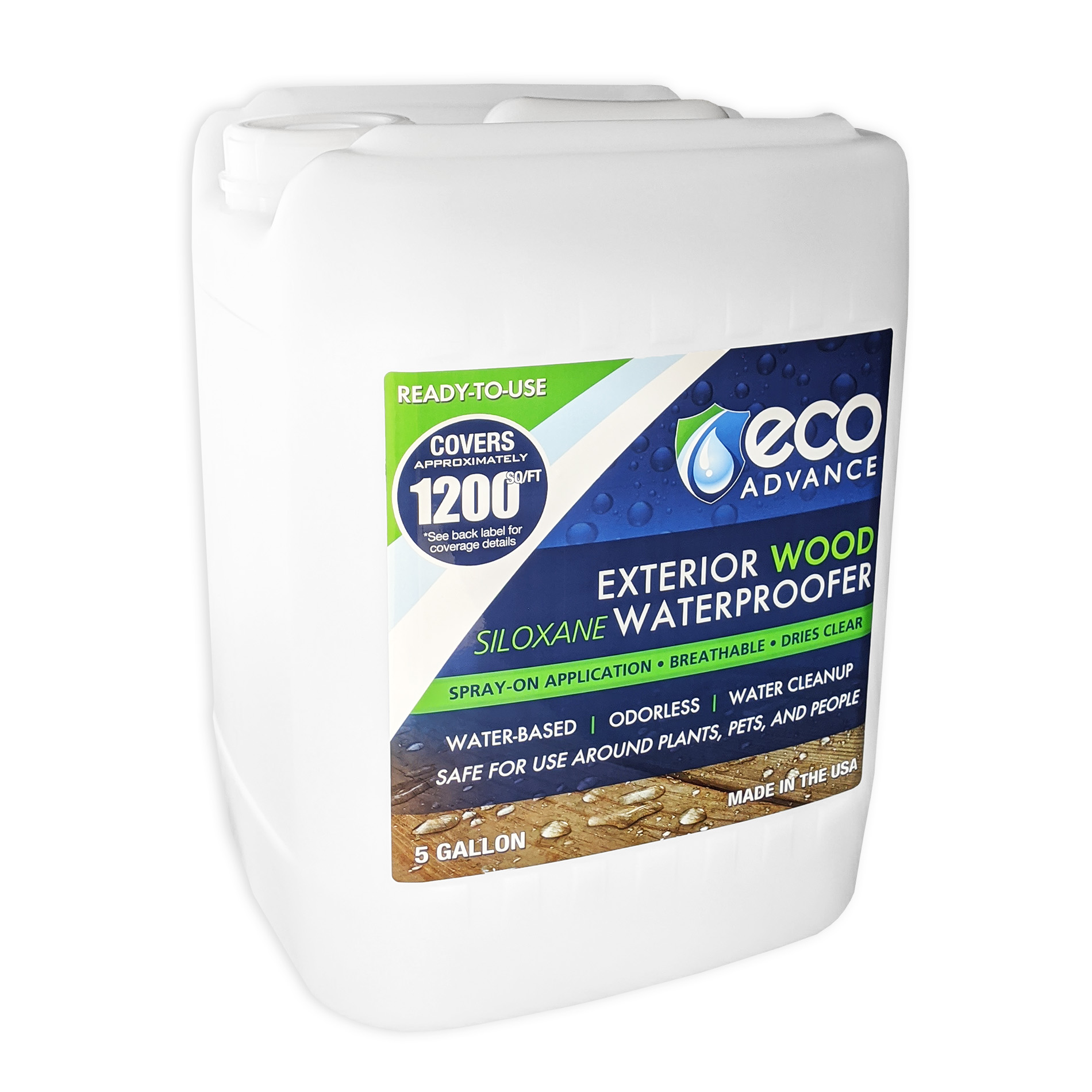 Eco Advance Wood Waterproofer - 5 Gallon