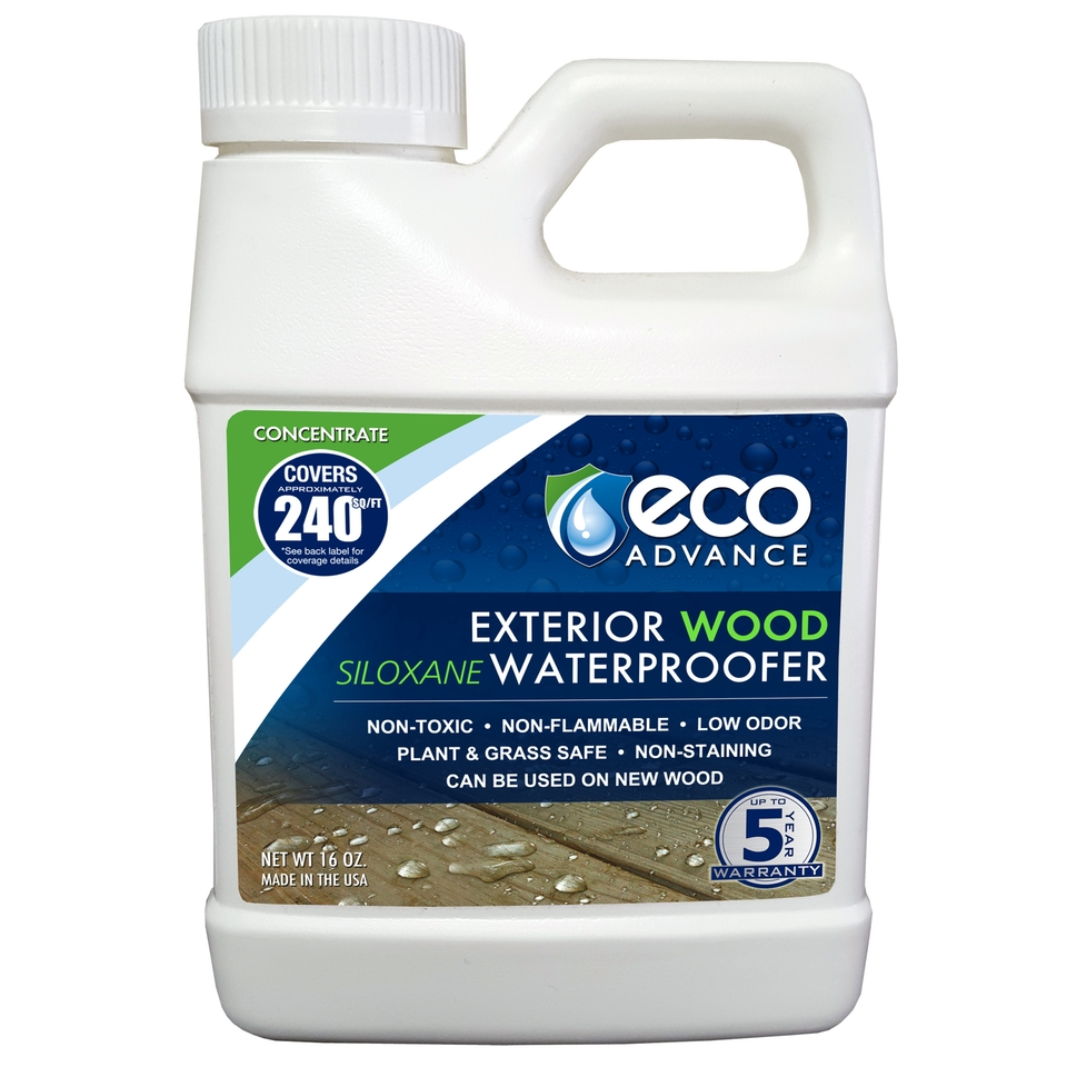 Eco Advance Wood Waterproofer Concentrate - Makes 1 Gallon