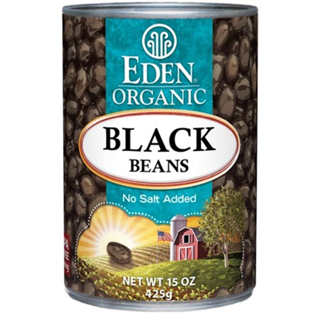 Eden Foods - Black Beans ( 12 - 15 OZ)