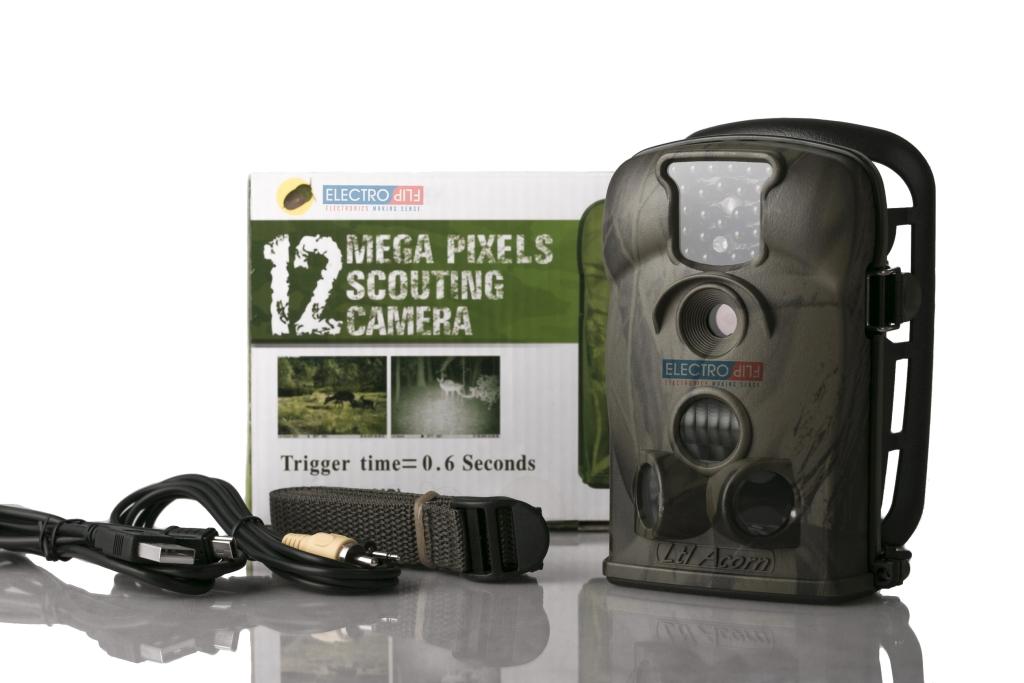 Battery Operated AcornTrail Night Vision DVR Best Surveillance Camera 16bit LCD