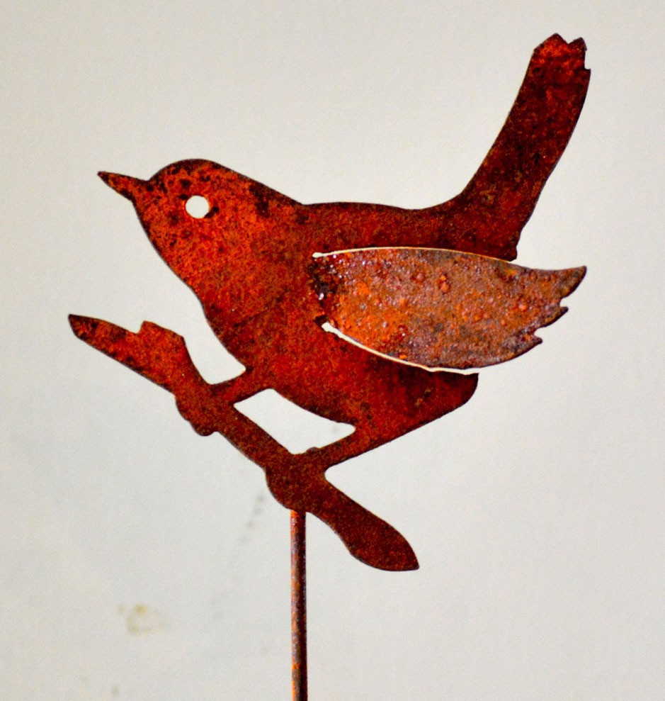 Wren on a Branch Pick (set of 3)