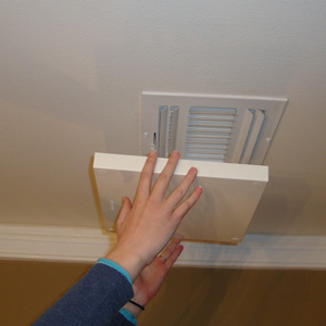 "A/C Insulated Magnetic Vent/Register Cover, 10"" x 10"""