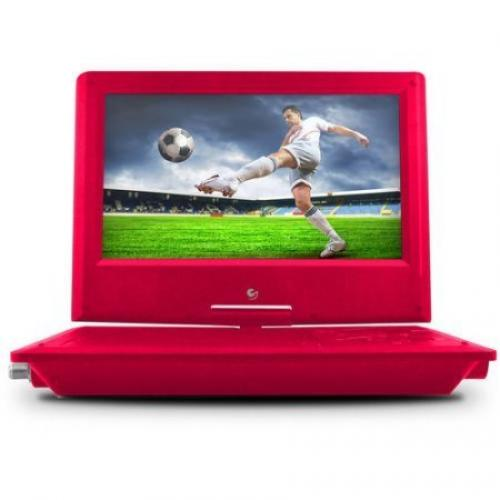 "9"" Portable DVD Player Pink"